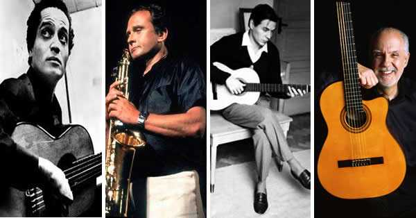 mejores músicos de bossa nova y jazz, castro neves, jobim, stan getz